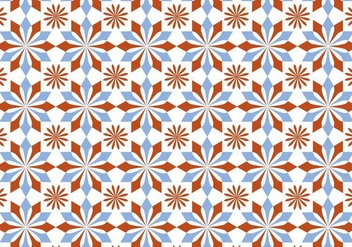 Pastel Mosaic Pattern Vector - Free vector #353335