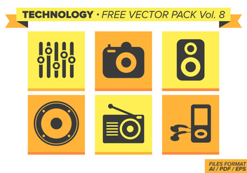 Technology Free Vector Pack Vol. 8 - vector gratuit #353565