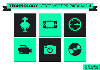 Technology Free Vector Pack Vol. 4 - Kostenloses vector #353575