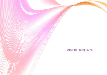 Free Vector Colorful Wave Background - бесплатный vector #353755