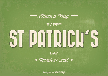 St Patrick's Day Vector Illustration - Free vector #353875