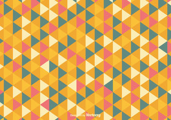 Colorful Geometric Abstract Vector Background - vector #353885 gratis