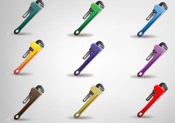 Wrench Vector Set - Kostenloses vector #354225
