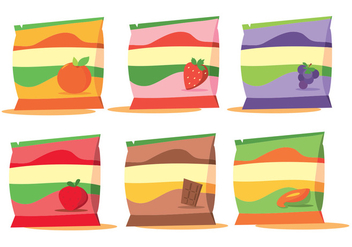 Fruit Vector Packaging - бесплатный vector #354255