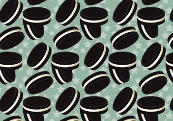 Free Oreo Vector Pattern #1 - Free vector #354325