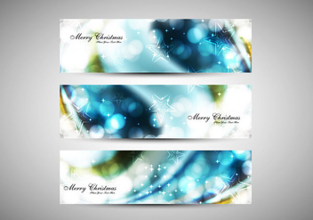 Headers Of Merry Christmas - vector gratuit #354515