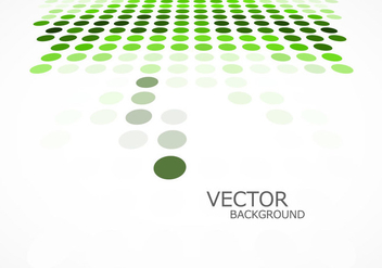 Green Dotted Background - vector gratuit #354955