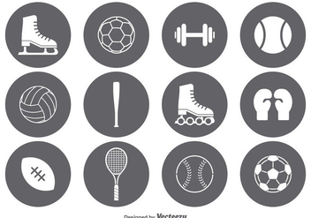 Vector Sport Icon Set - Kostenloses vector #355465