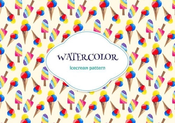 Free Watercolor Vector Pattern - Kostenloses vector #355475