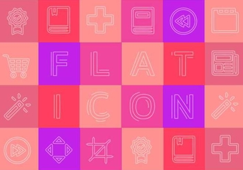 Free Flat Icons Vector Collection - vector #355685 gratis