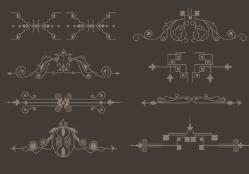 Western Flourish Vector - бесплатный vector #355955