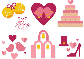 Free Wedding Bells Vector - бесплатный vector #356065