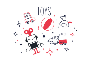 Free Toys Vector - Free vector #356125