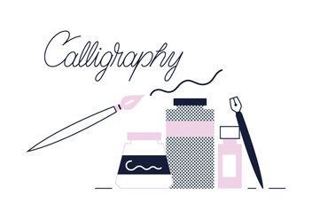 Free Calligraphy Vector - Free vector #356225