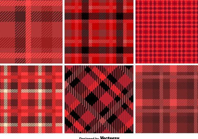 Scottish Vector Patterns - vector gratuit #356395
