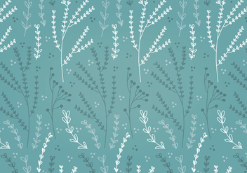 Free Teal Spring Flower Vector Patterns - Kostenloses vector #356405