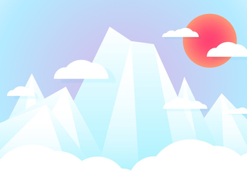 Everest Vectorial Illustration Landscape - vector gratuit #356475
