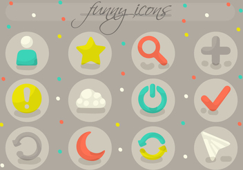 Free Various Icons Vector - Free vector #356665