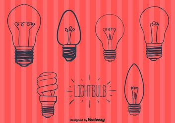 Lightbulbs Vector - vector gratuit #356775