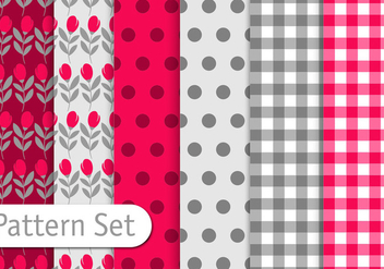 Fomantic Pattern Set - бесплатный vector #356805