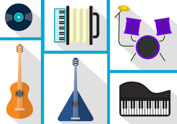 Vector Musical Instruments - vector gratuit #356915