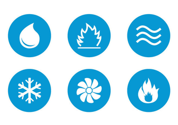 Free HVAC Icons Vector - бесплатный vector #357025