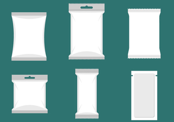 Sachet Vector Packaging - Free vector #357205