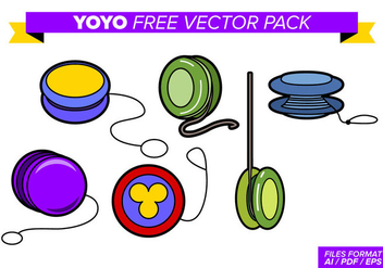 Yoyo Free Vector Pack - бесплатный vector #357485