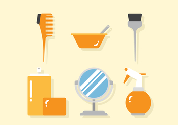 Vector Barber Tools - vector gratuit #357795