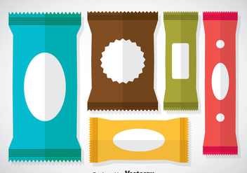 Colorful Sachet Vectors - бесплатный vector #357825