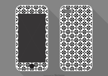 Free Vector Phone Case Geometric Design - Kostenloses vector #357945