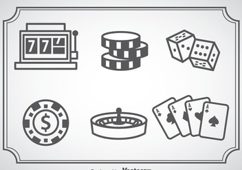 Casino Royale Icons - бесплатный vector #357965