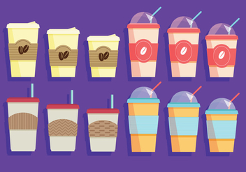 Coffee Sleeve Vector - vector #358005 gratis