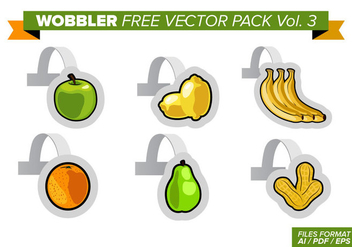 Wobbler Free Vector Pack Vol. 3 - vector gratuit #358045