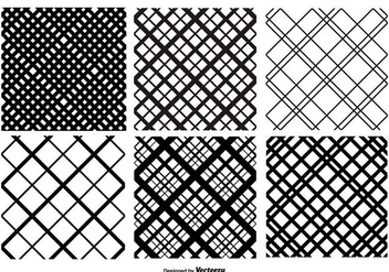 Crosshatch Vector Pattern Set - бесплатный vector #358065