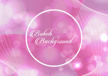 Bokeh Background - vector gratuit #358275