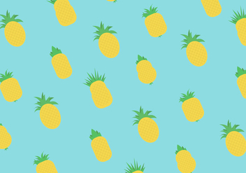 Ananas Vector Pattern - бесплатный vector #358645