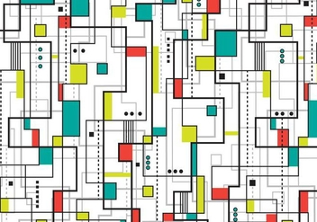 Bauhaus Background - vector gratuit #358755