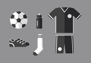Vector Football Kit - Kostenloses vector #358865
