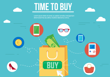 Free Shopping Vector Icons - Free vector #358905