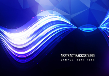Free Colorful Wave Vector - vector gratuit #358975