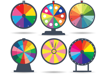 Spinning Wheel Vector - Free vector #359485