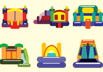 Bounce House Vector - vector #359675 gratis