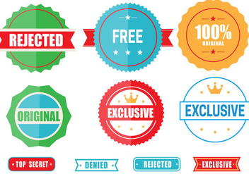 Free Colored Emblems Vector - Free vector #359805