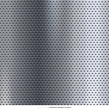 Dotted metallic texture - vector gratuit #360045