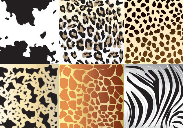 Animal Textures - vector gratuit #360165