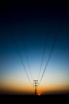 Electric sunset - Free image #360345