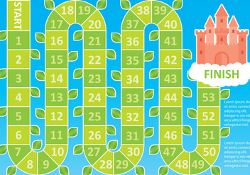 Beanstalk Board Game - Free vector #360625