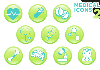 Medical Icons Vector Free - vector gratuit #360645