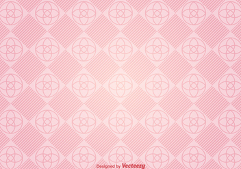 Vector Modern Pink Background With Geometric Figures - Free vector #360785